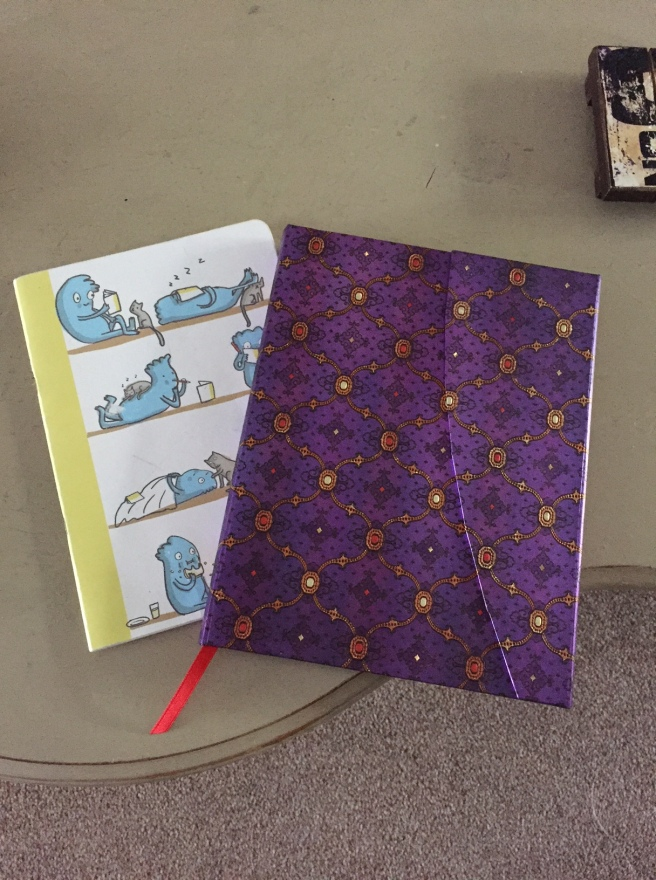 Two lovely bound notebooks