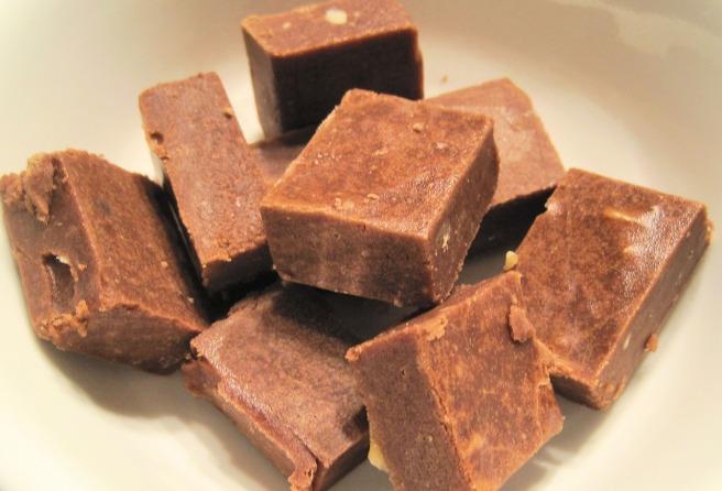 Pile of fudge