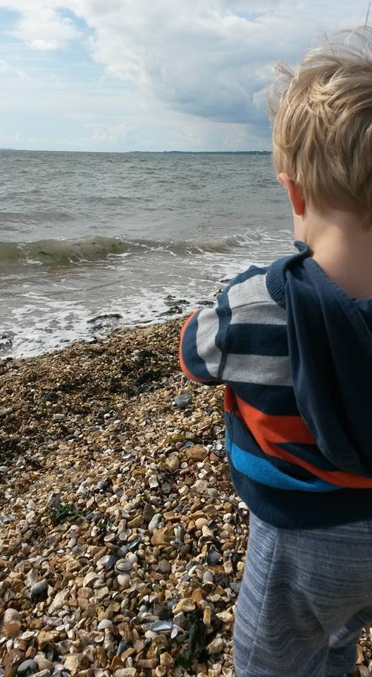 Boy at seaside